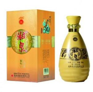 52度 500ml 湘泉酒(黄陶)价格查询