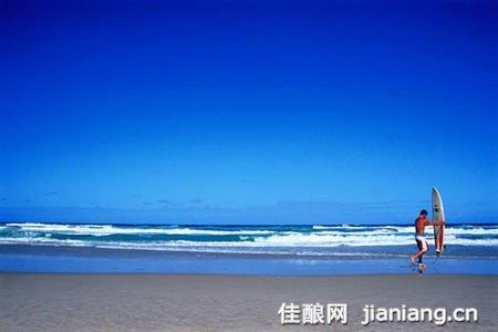 获奖海边风景范画