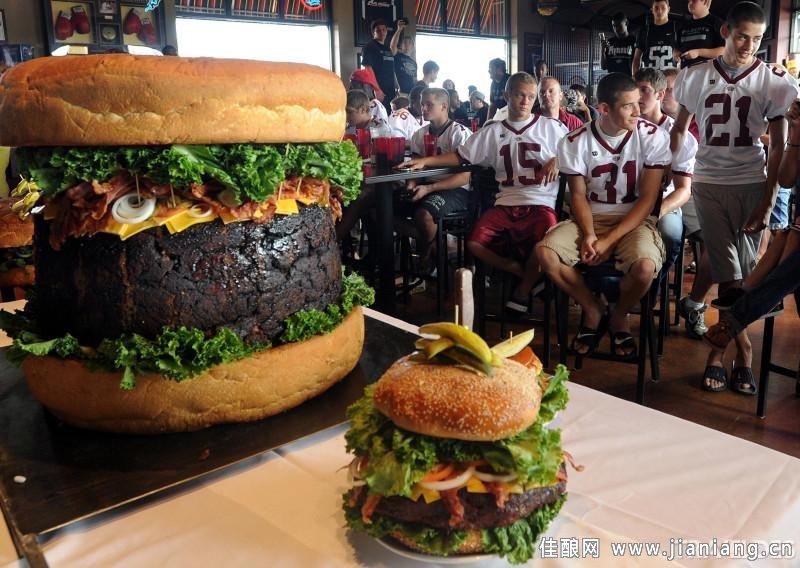 汉堡界的米其林享受 美国最贵的7款汉堡
