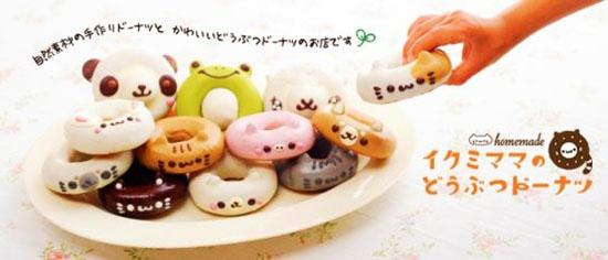 可爱又美味的动物造型小甜点