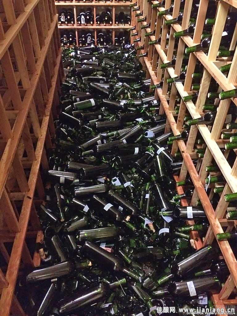 葡萄酒该如何防地震
