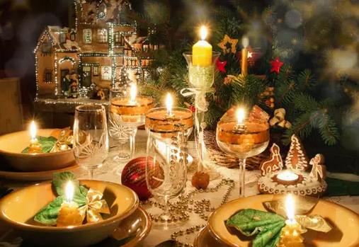 如何布局二人世界的烛光晚餐?