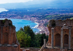 西西里岛的美景和美酒