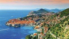 旅游胜地克罗地亚的美景与美酒