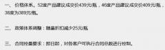 水晶剑南春出厂价上涨25元 终端价再涨21