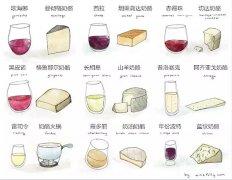 葡萄酒与奶酪如何完美