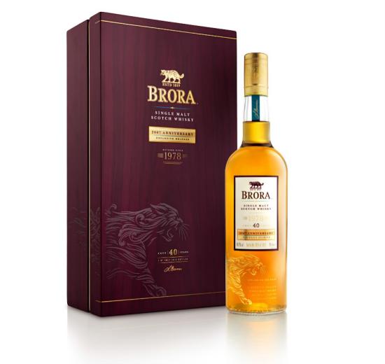 稀世臻酿·唤醒辉煌——布朗拉40年单一麦芽威士忌200周年纪念版